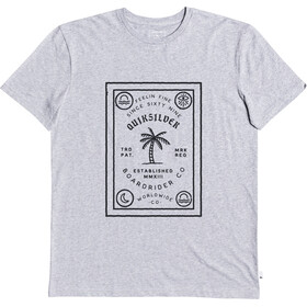 Quiksilver Bad Liar T-shirt Heren, micro chip heather